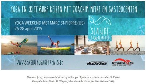 Seaside Yoga in Belgium